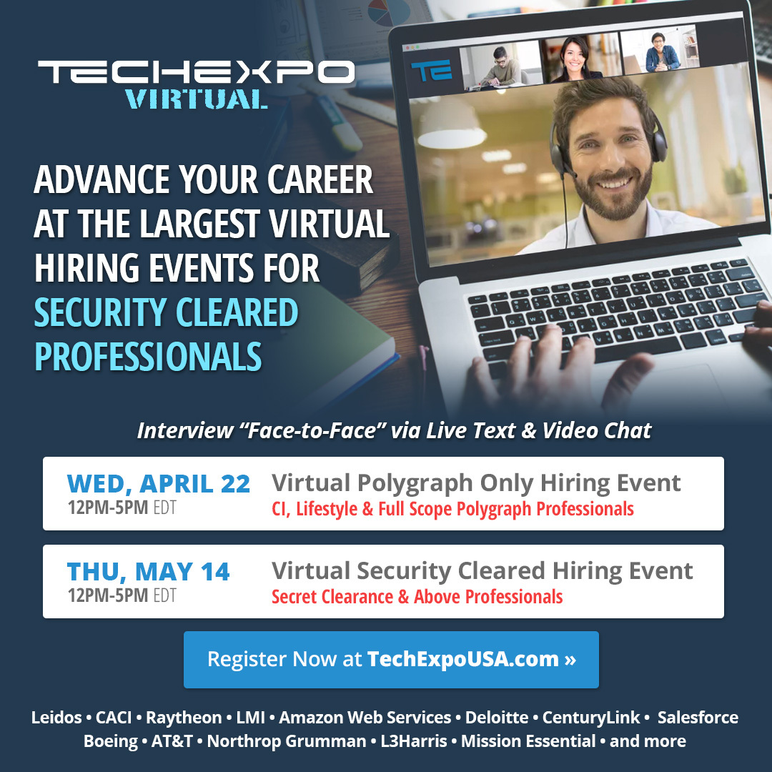 TECHEXPO Virtual Hiring Events