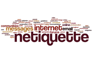 Netiquette of Internet Communications