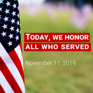Today We Honor All Who Served