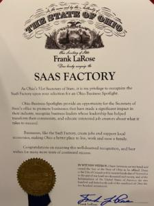 SaaS Factory Ohio Business Spotlight