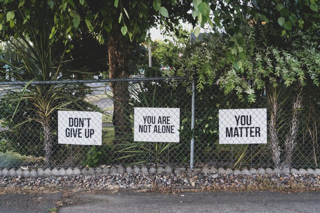 Youth Suicide Prevention. You Matter.