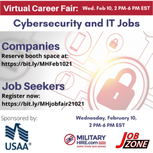 Cybersecurity and IT Job Fair 2-10-21