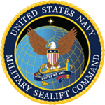 Sealift Command Logo