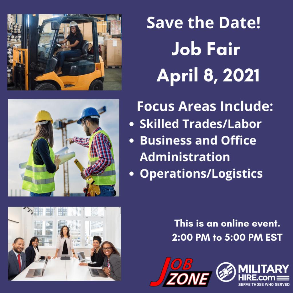 April 8, 2021 Job Fair