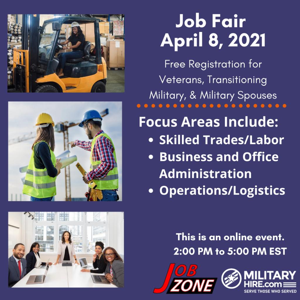 April 8 2021 Virtual Career Fair