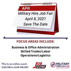 April 8 Job Fair Save The Date!