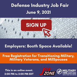 Register for June 9, 2021 Job Fair