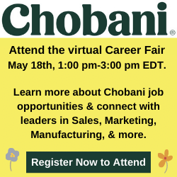 Chobani Job Fair May 18, 2021