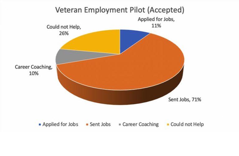 AMVETS Pilot Project Chart